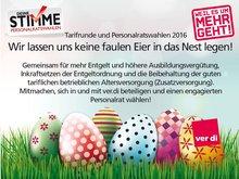 Keine faulen Eier - mach mit!