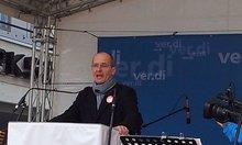 Achim Meerkamp redet