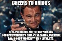 Gewerkschaften sind das Beste