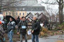 12.12. - auch lokale Politprominenz war da (Frank Heinze und Werner Lutz)