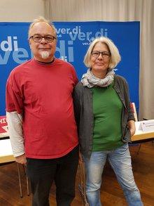 Iris und Roland unsere Delegierten