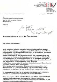 EKV gegen Info 1